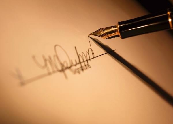По подписи можно определить характер человека