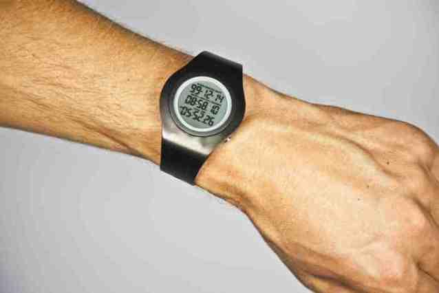 Созданы наручные часы с обратным отсчётом
