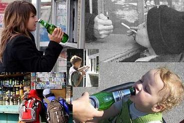 Пагубная роль алкоголизма на различные острые и хронические заболевания