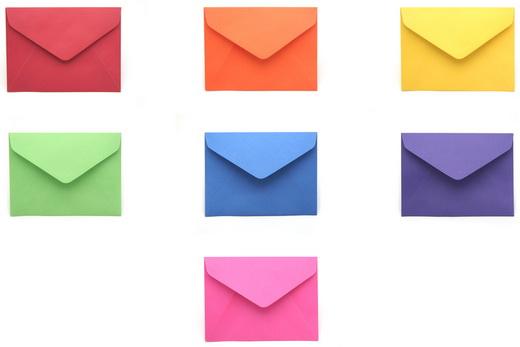 7 конвертов