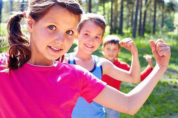 спорт дети