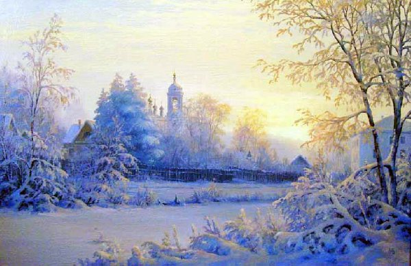 зимой в Плёсе