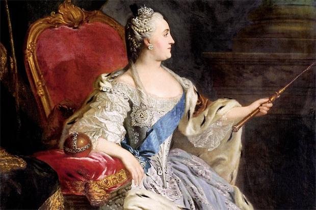 Екатерина II Алексеевна Великая, императрица Всероссийская