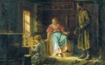 Воспитание мальчиков в крестьянских семьях на Руси