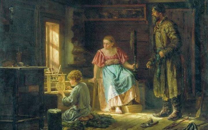 Крестьянские дети на Руси