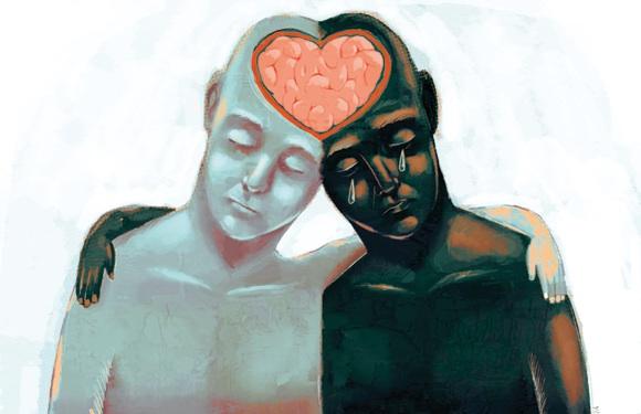 Сопереживать ближним в горе, эмпатия