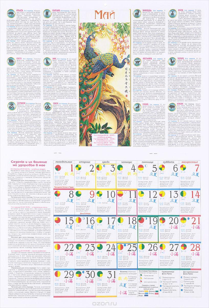 Восточный календарь и система Фэн-шуй на 2017 год