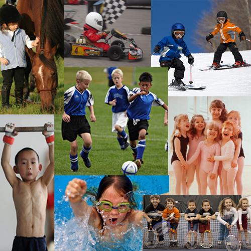 вид спорта для ребенка