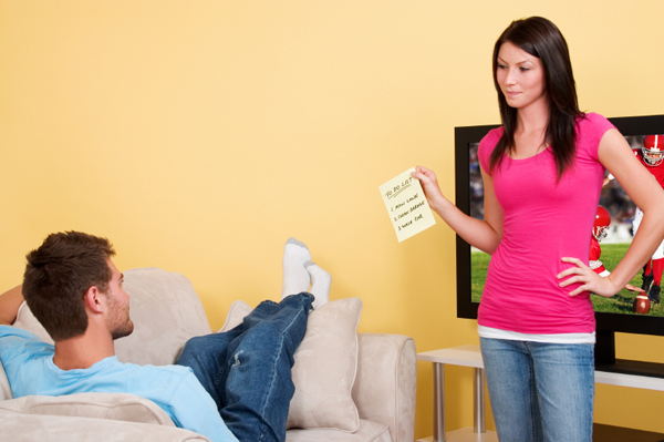Супруг не помогает по дому
